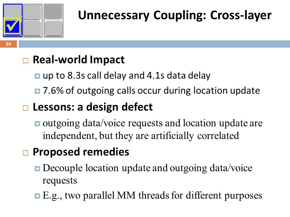 Unnecessary Coupling: Cross-layer