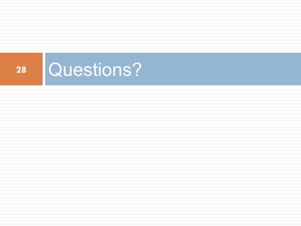 Questions Q: Why hybrid 3G/4G operation A: Incremental deployment.