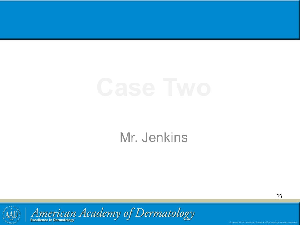 Case Two Mr. Jenkins