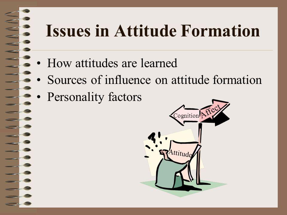 attitude formation