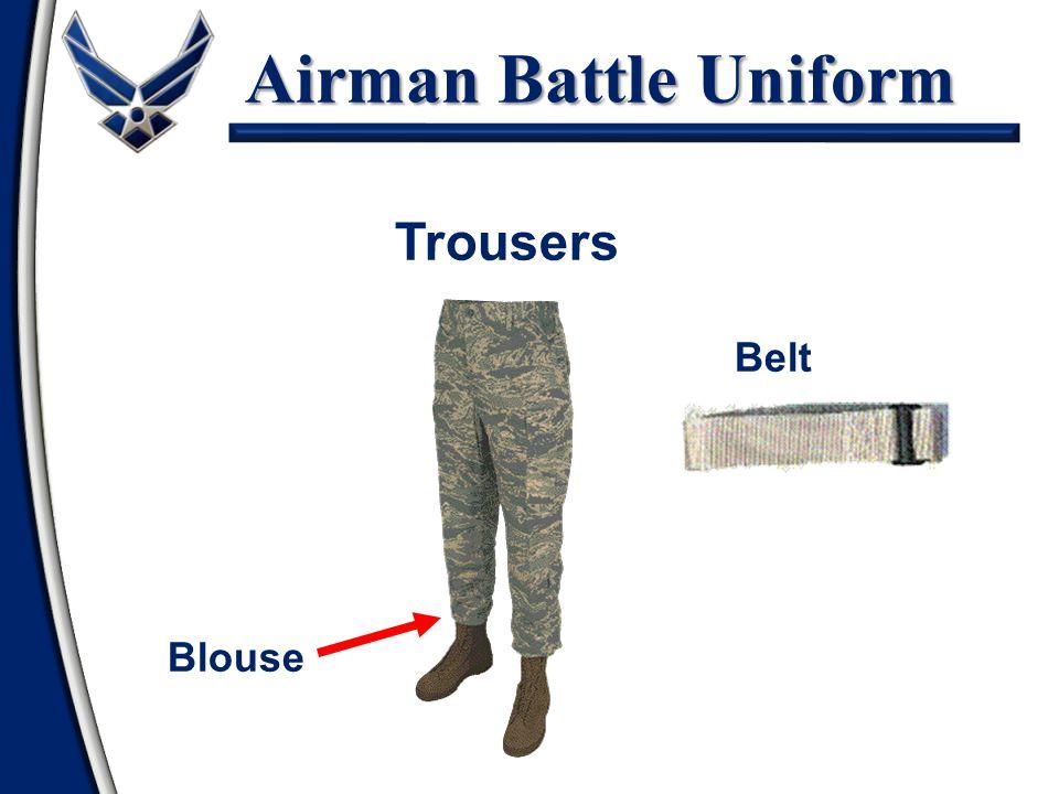 Airman Battle Uniform Trousers Belt Blouse
