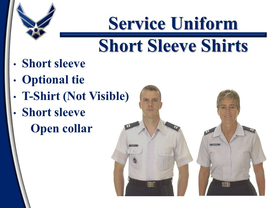 Service Uniform Short Sleeve Shirts