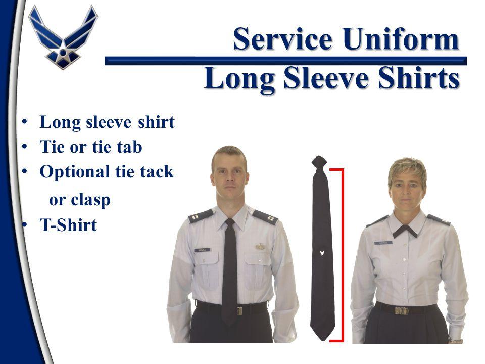 Service Uniform Long Sleeve Shirts