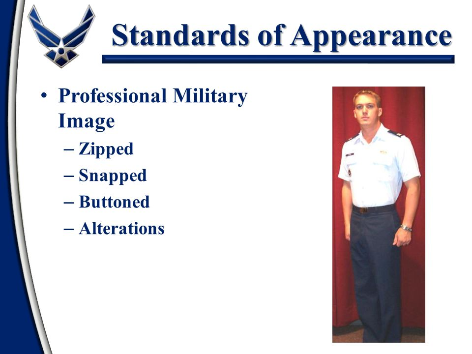 Standards of Appearance
