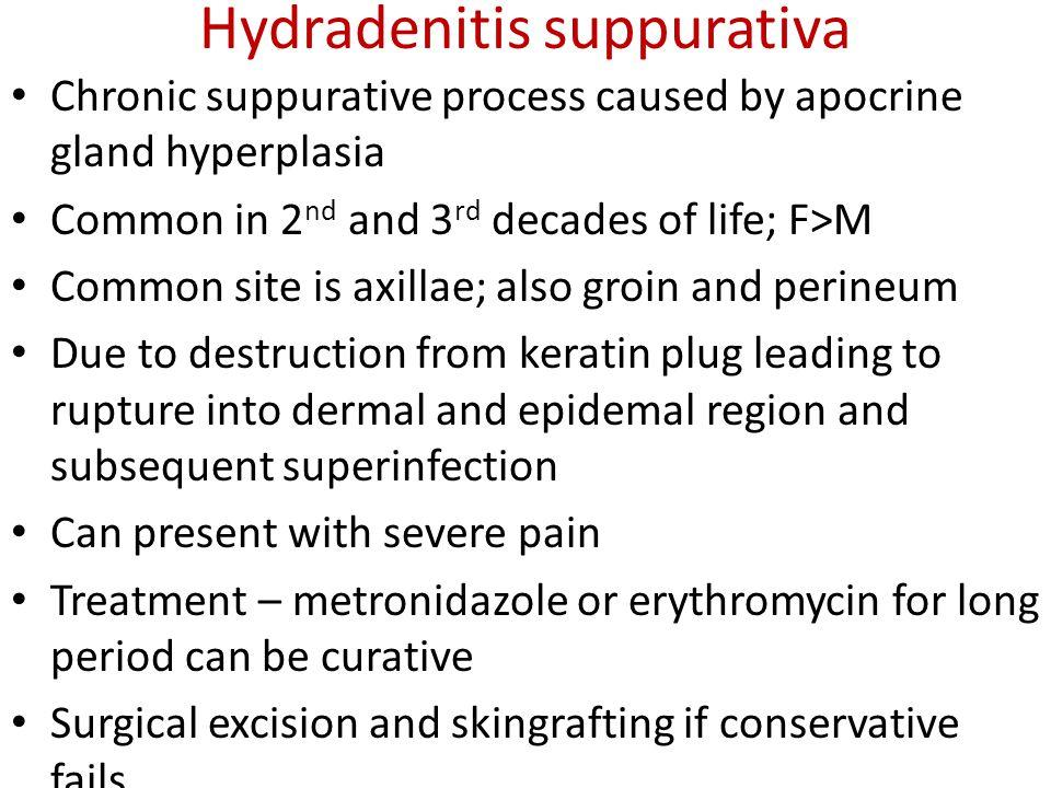 Hydradenitis suppurativa