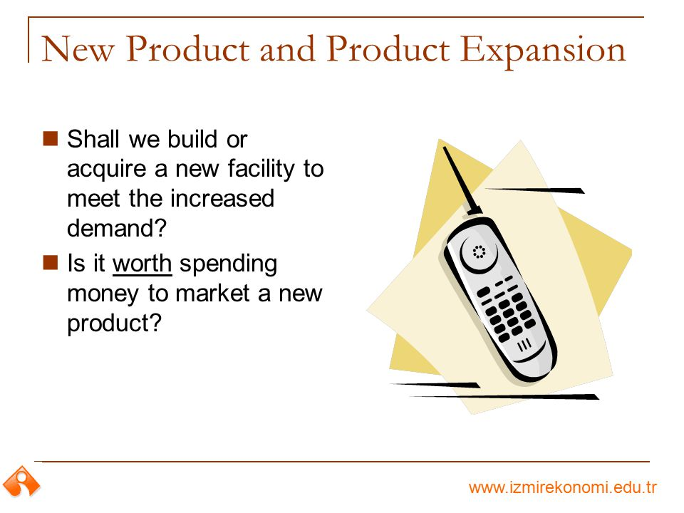 New Product and Product Expansion