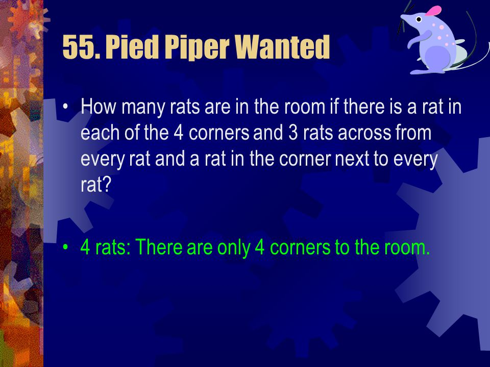 55. Pied Piper Wanted