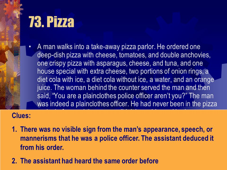 73. Pizza