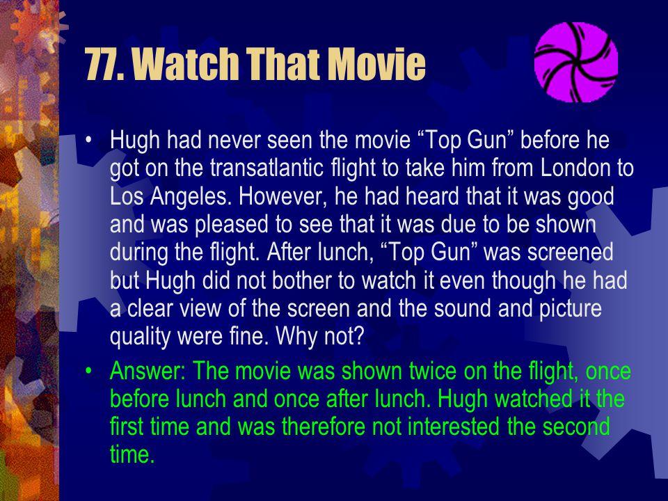 77. Watch That Movie