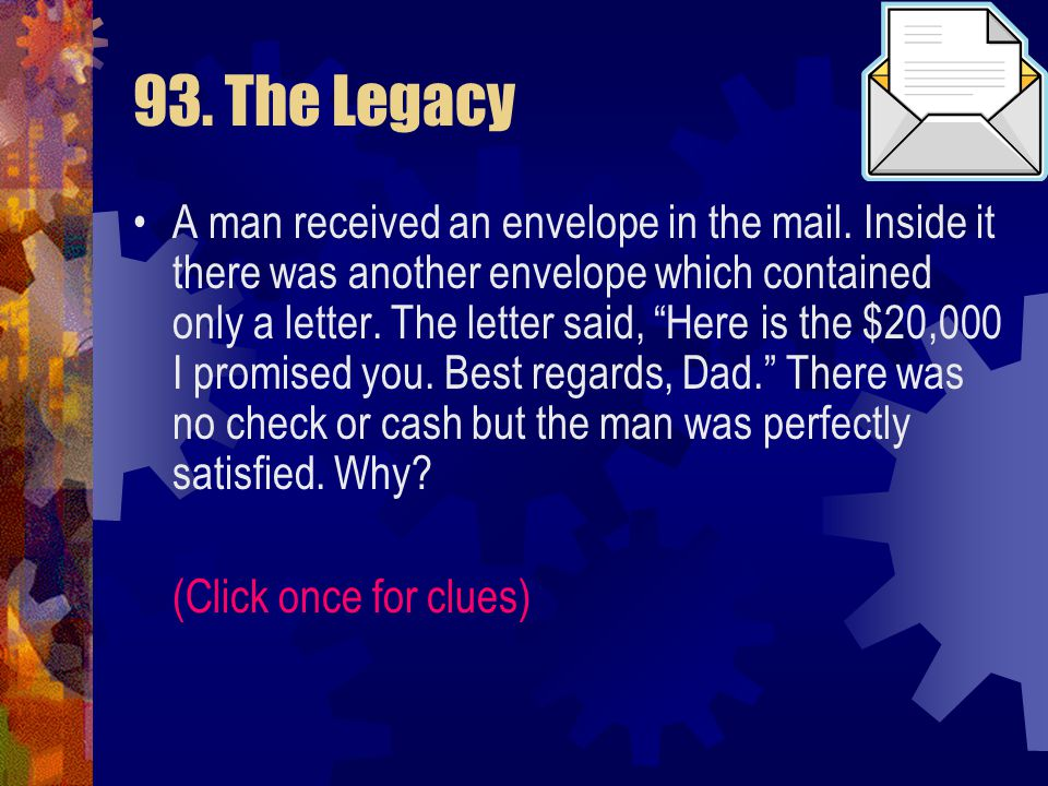 93. The Legacy