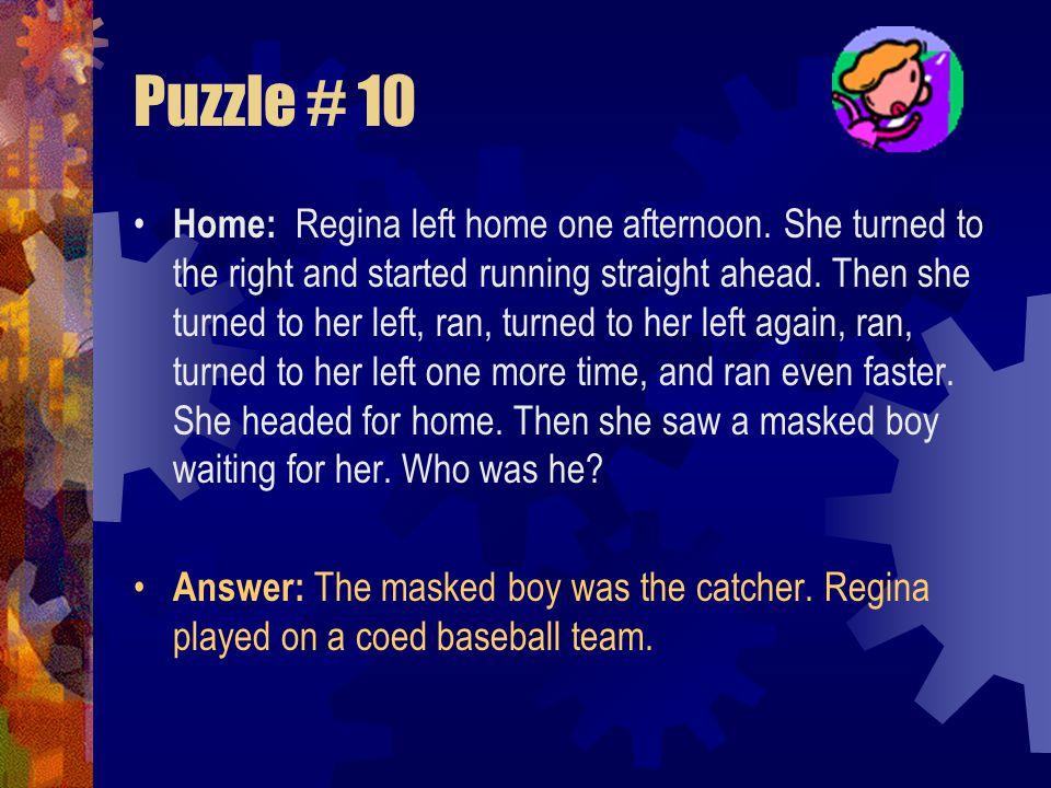 Puzzle # 10