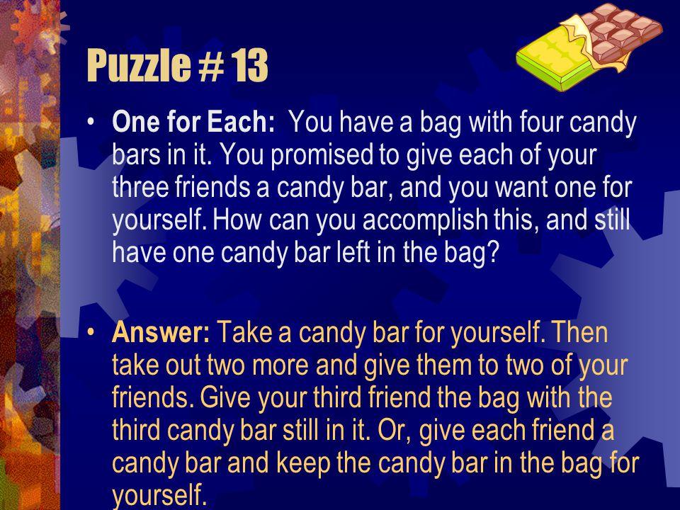 Puzzle # 13