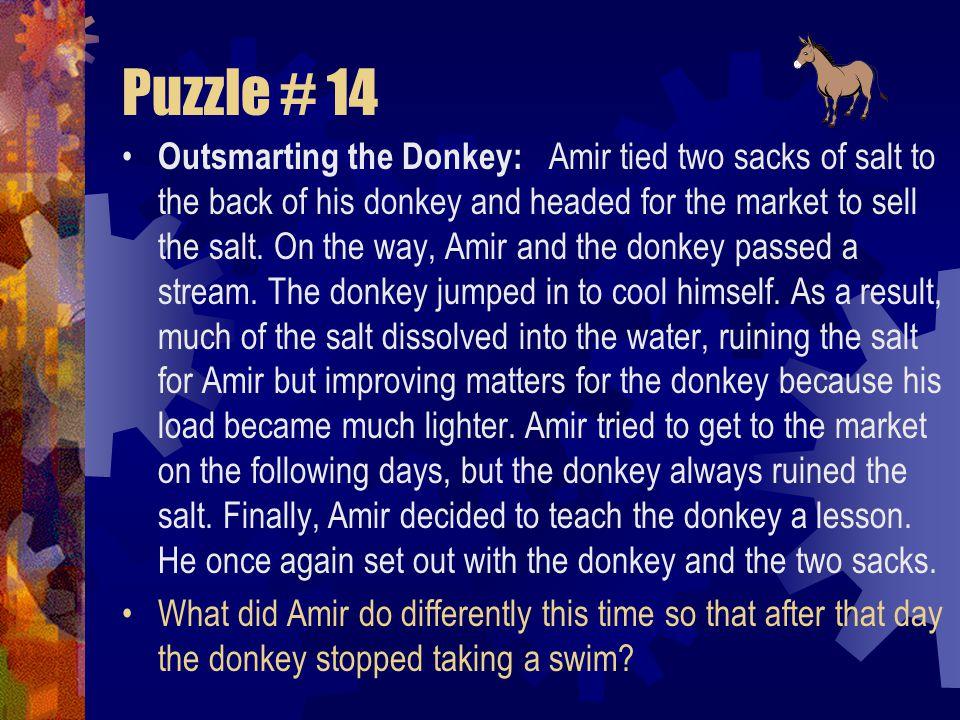 Puzzle # 14