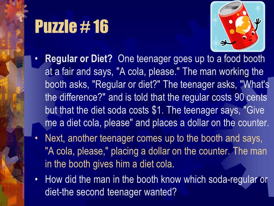 Puzzle # 16