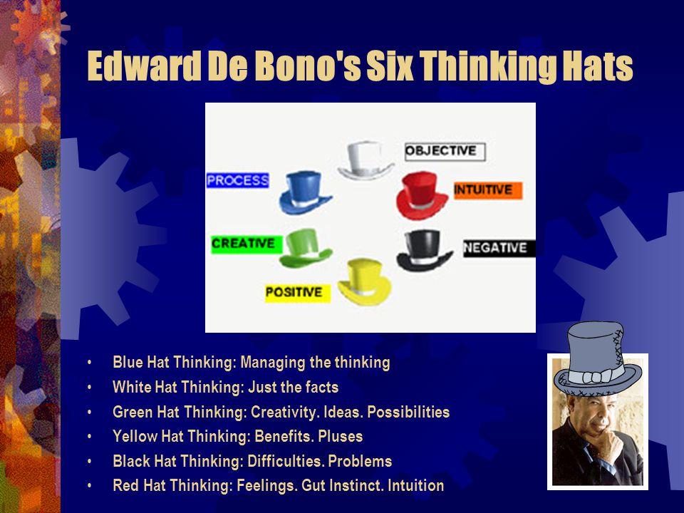 Edward De Bono s Six Thinking Hats