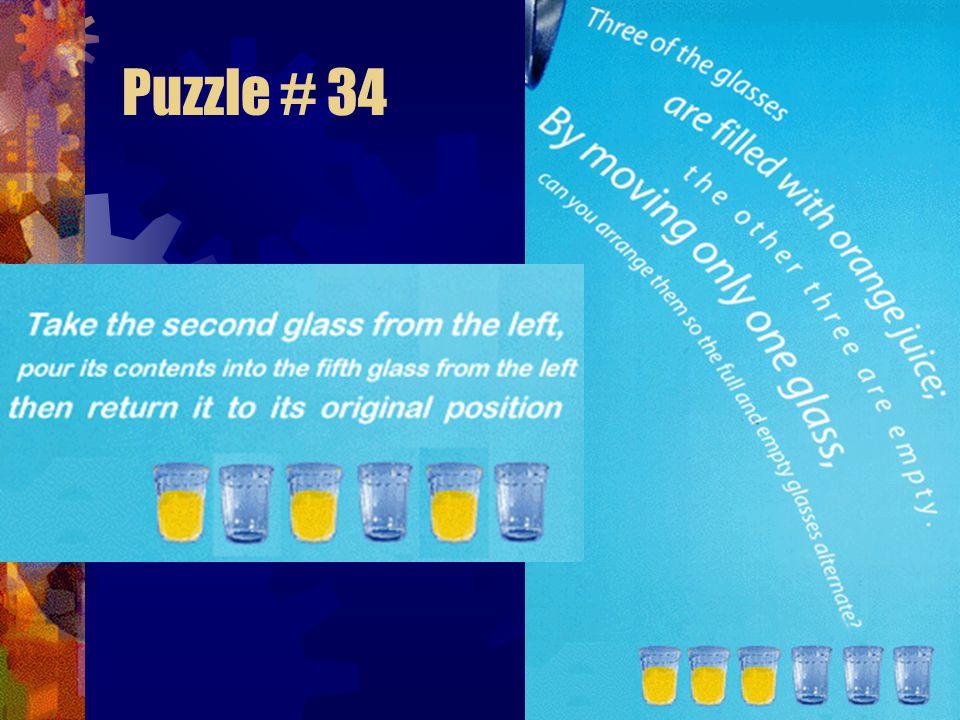 Puzzle # 34