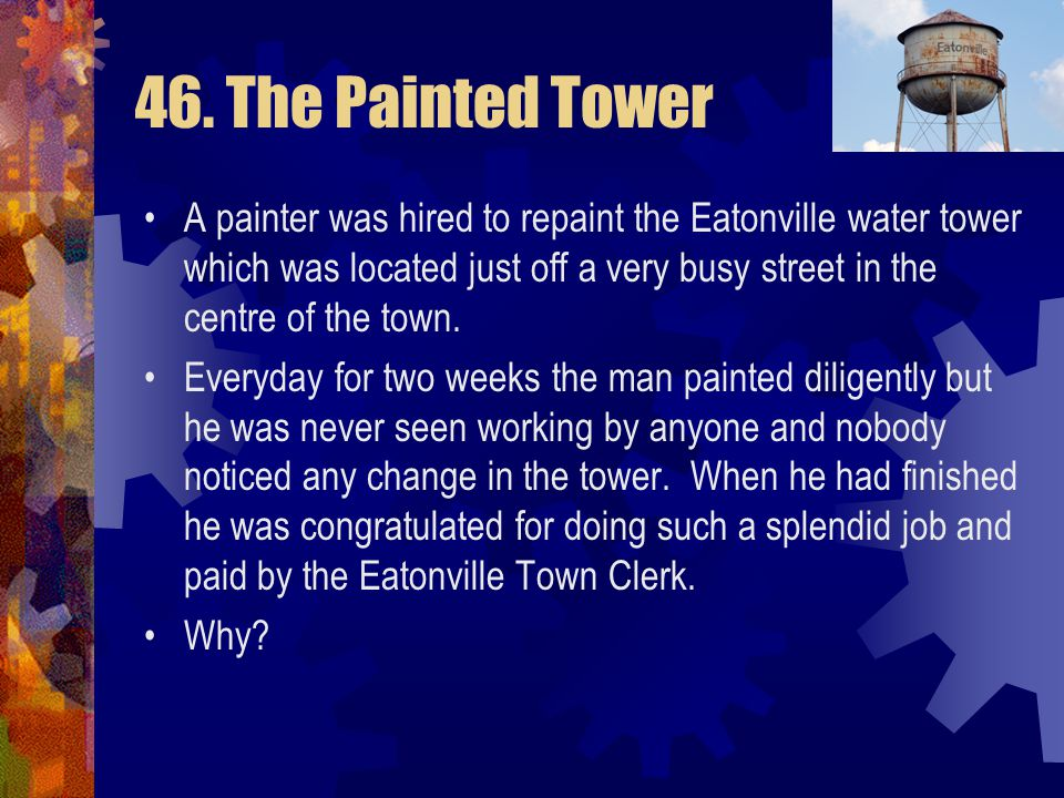 46. The Painted Tower