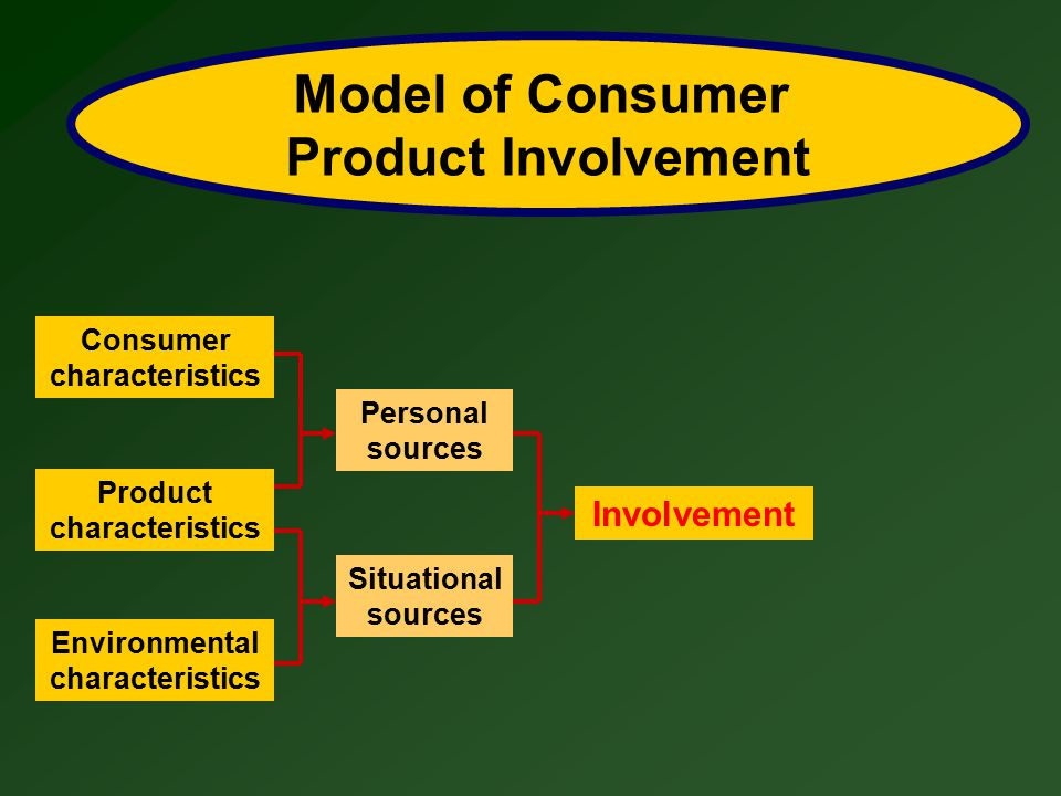 Model of Consumer Product Involvement
