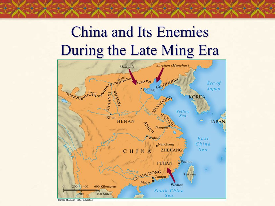 China and Its Enemies During the Late Ming Era