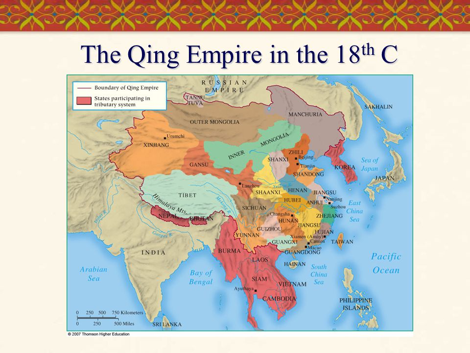 The Qing Empire in the 18th C