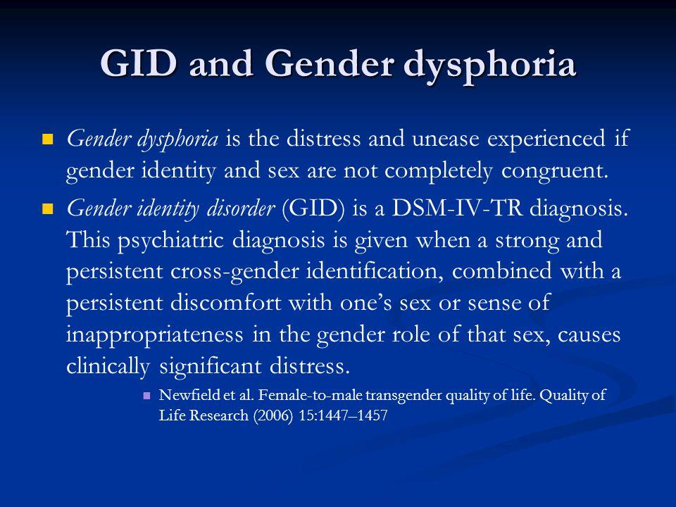 Gender thesis