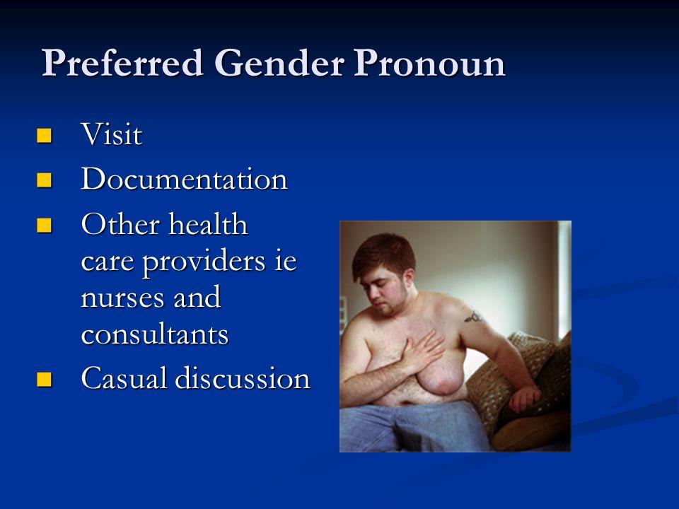 Preferred Gender Pronoun