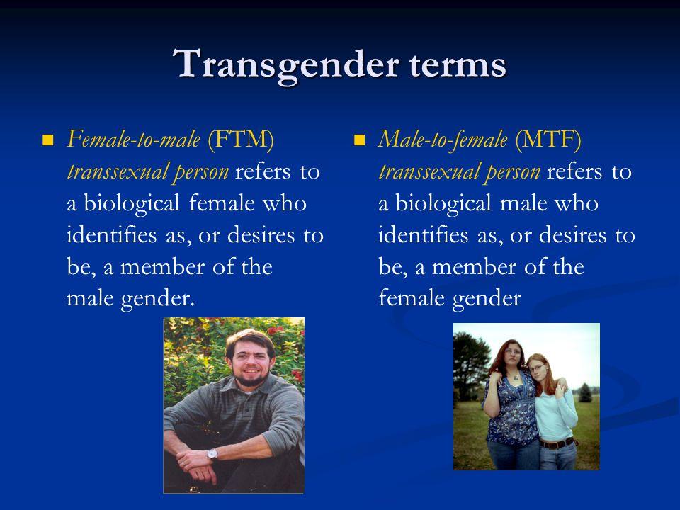 Transgender terms