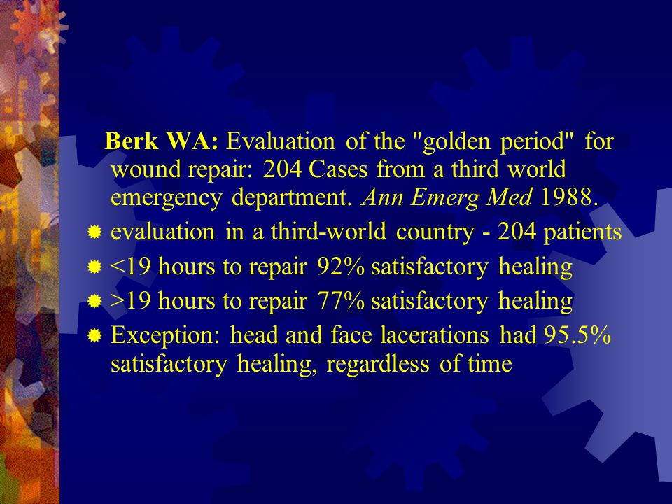 evaluation in a third-world country - 204 patients
