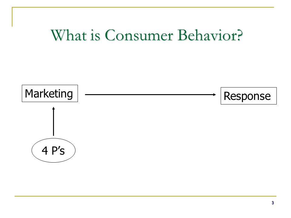 What is Consumer Behavior