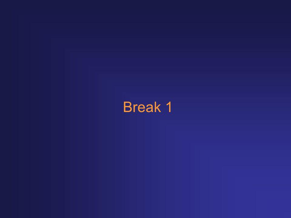Break 1