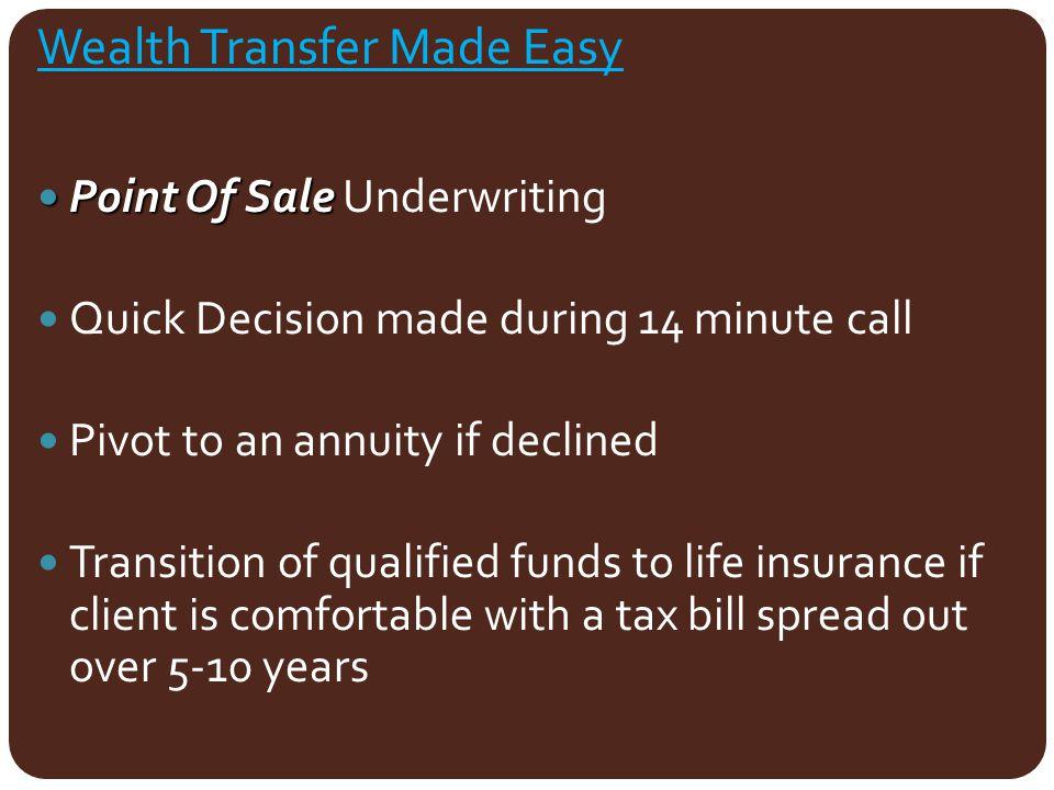 Wealth Transfer Made Easy
