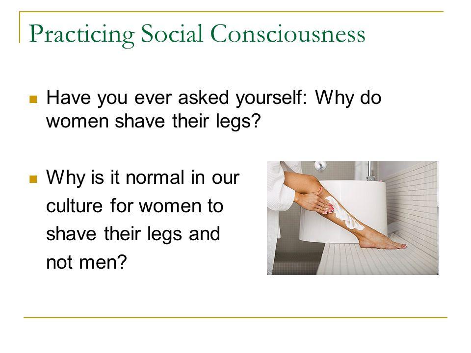 Practicing Social Consciousness