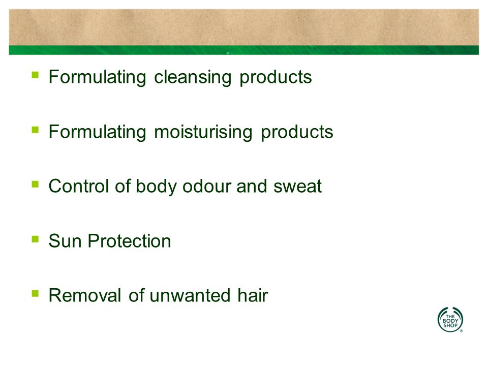 Formulating cleansing products