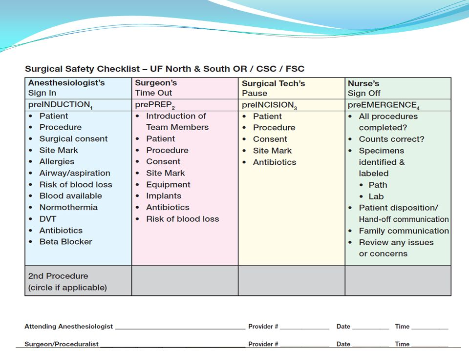 SCIP-1 Timing LLF SSI Standards 2013