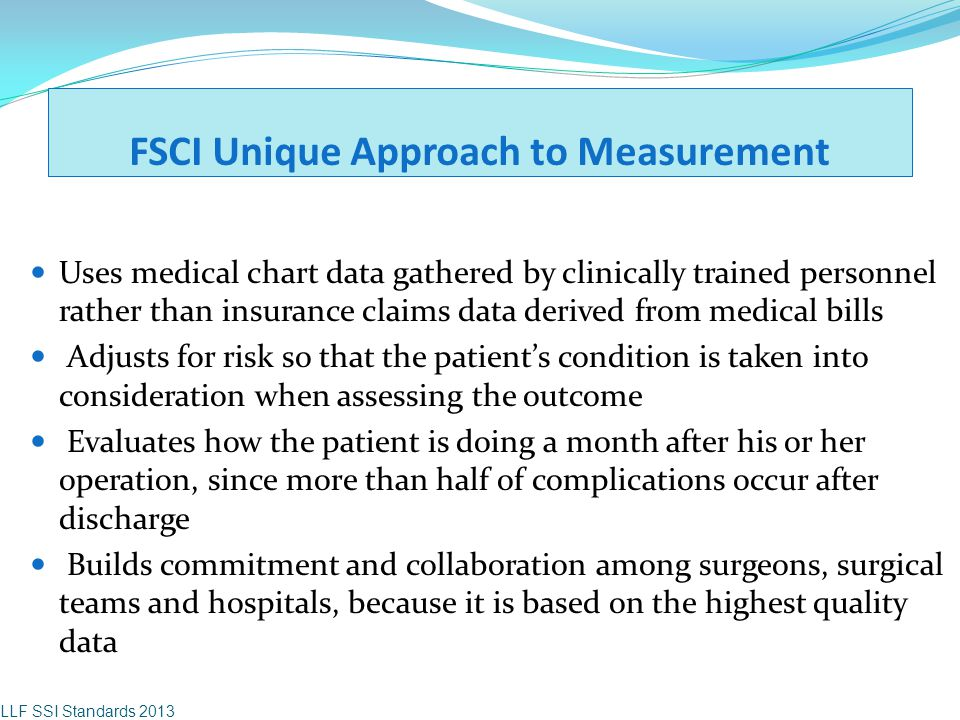 FSCI Unique Approach to Measurement
