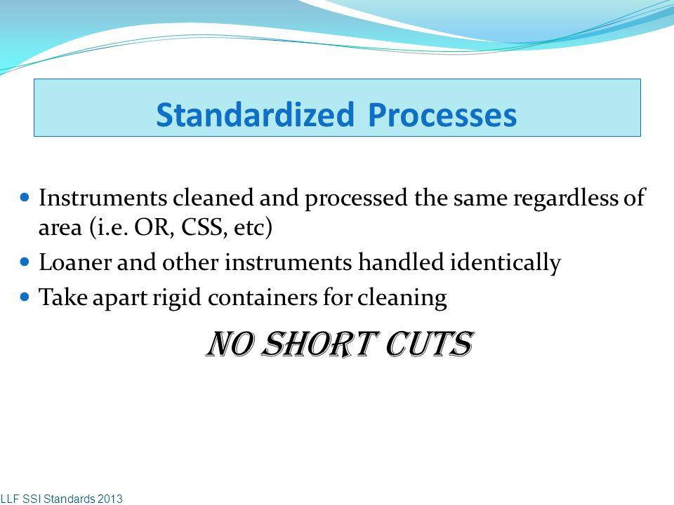 Standardized Processes