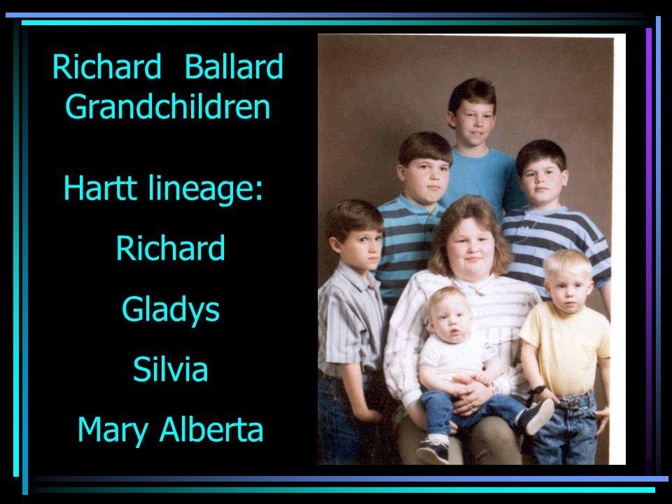 Richard Ballard Grandchildren