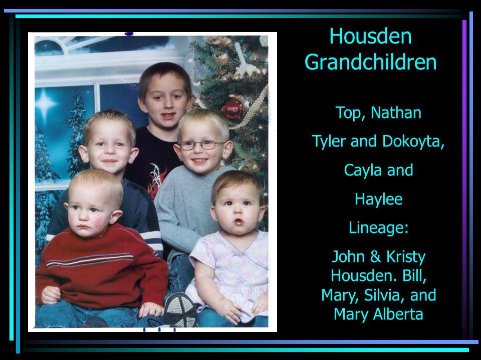 Housden Grandchildren
