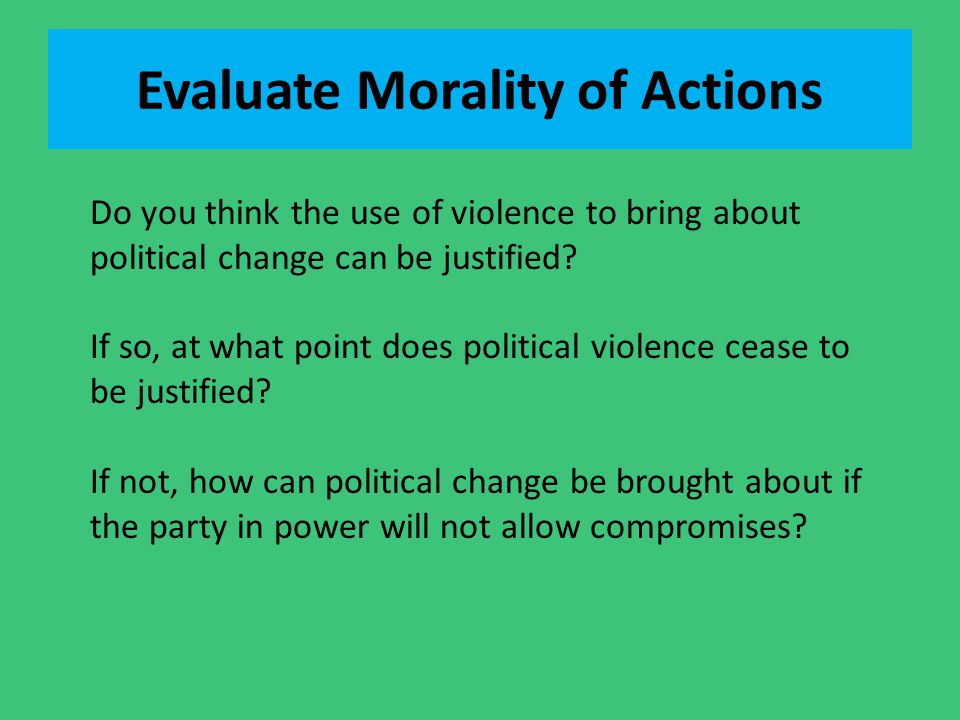 Evaluate Morality of Actions