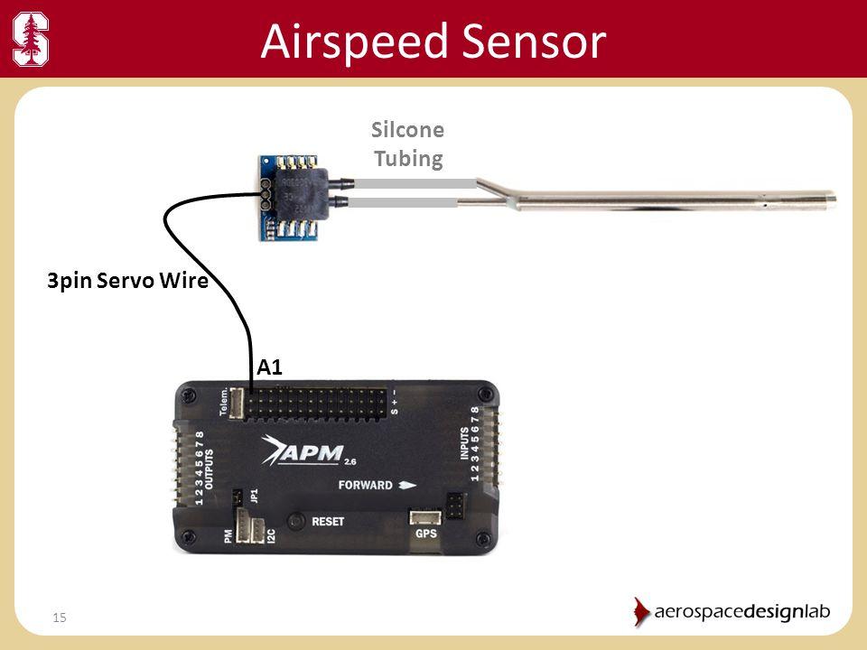 Airspeed Sensor Silcone Tubing 3pin Servo Wire A1