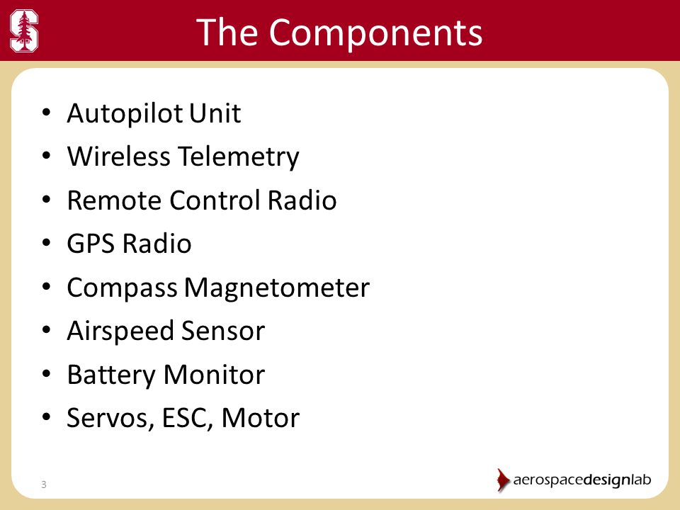 The Components Autopilot Unit Wireless Telemetry Remote Control Radio