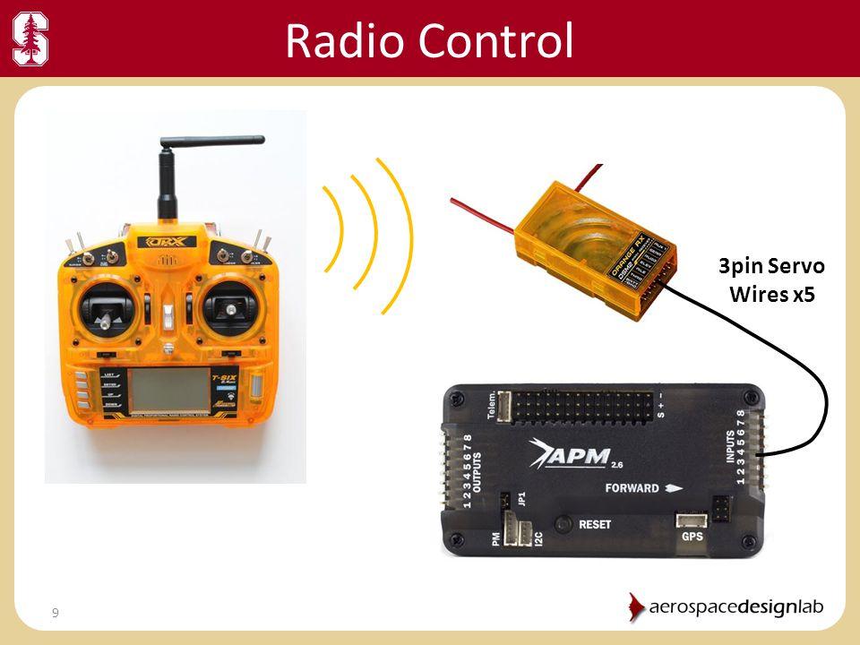 Radio Control 3pin Servo Wires x5