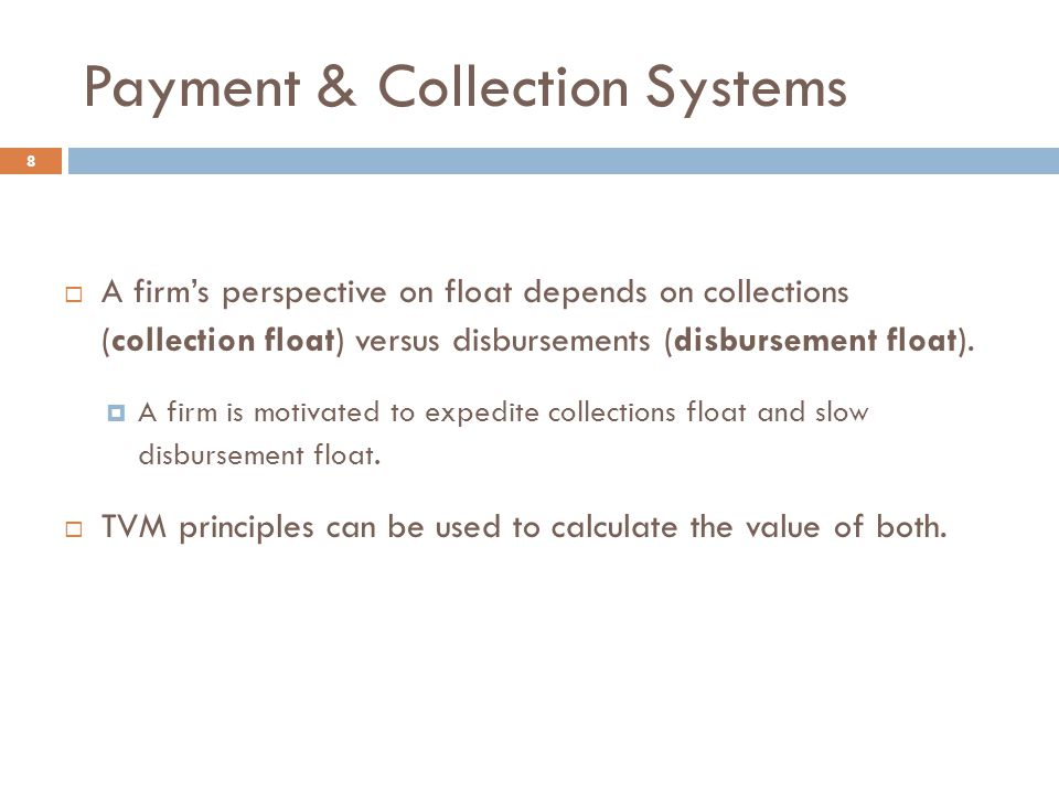 Payment & Collection Systems
