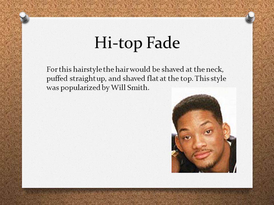 Hi-top Fade