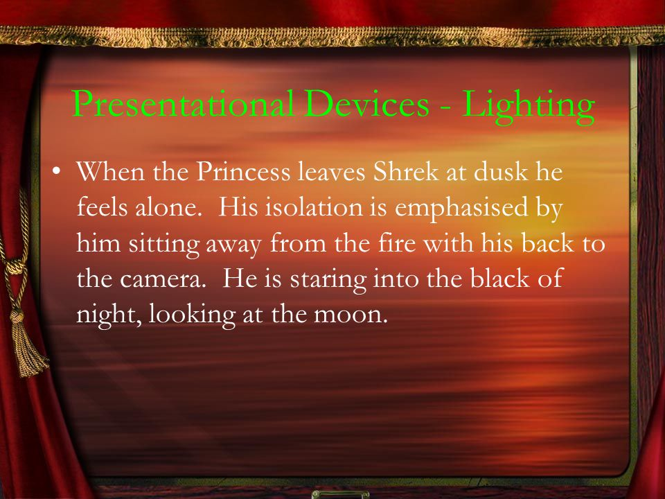 Presentational Devices - Lighting