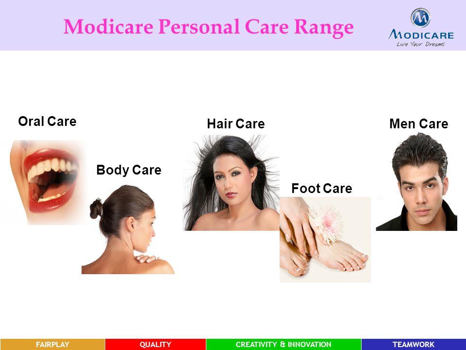 Modicare Personal Care Range