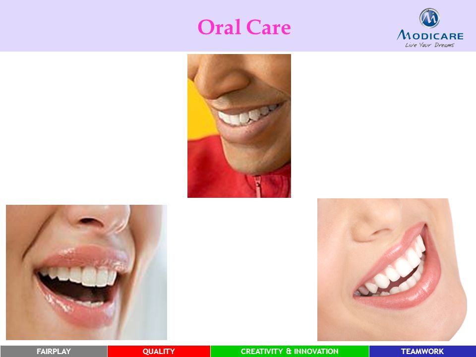 Oral Care Make people sit in pairs