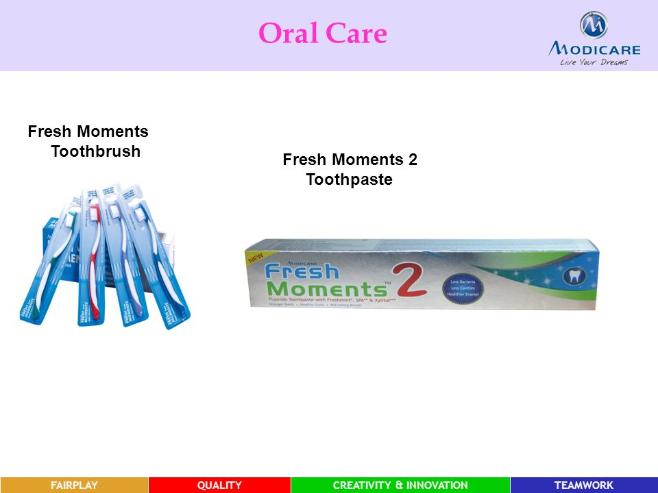 Oral Care Fresh Moments 2 Toothpaste FAIRPLAY FAIRPLAY FAIRPLAY