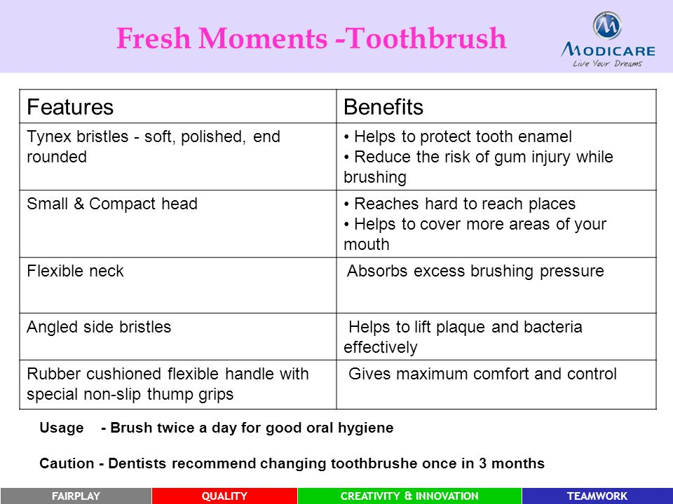 Fresh Moments -Toothbrush