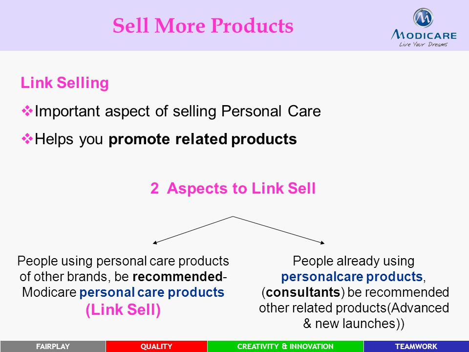 Sell More Products Link Selling